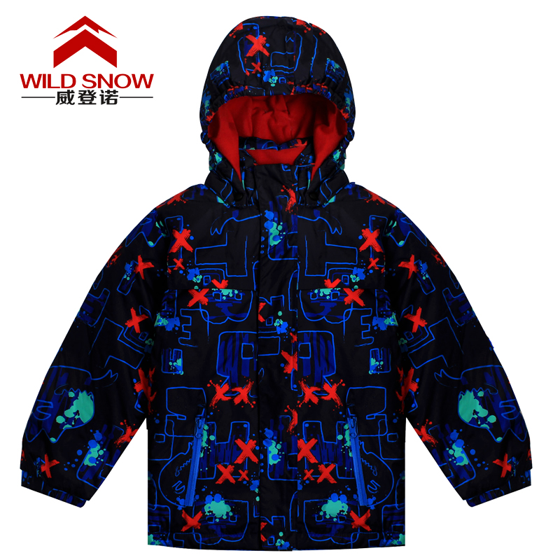 Ski Jacket Children Warm Breathable Outdoor Waterproof Winter Brand Skiing Jacket For Kids Snowboarding Hiking Jackets Snow Coat 2016 new brand children snow runner self balance scooter snow bicycle for kids ski kits