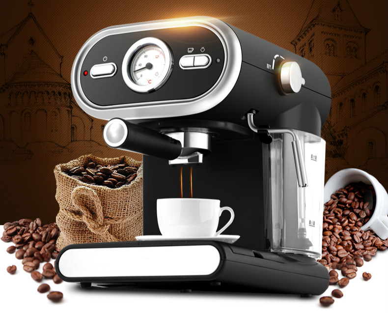 Automatic household visualization espresso machine Espresso Coffee Maker кружка пивная printio авто мото
