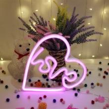 24 CM LED love Night Light  Alphabet Battery Home Culb Wall Decoration Party Wedding Birthday Decor Valentine's Day Gift