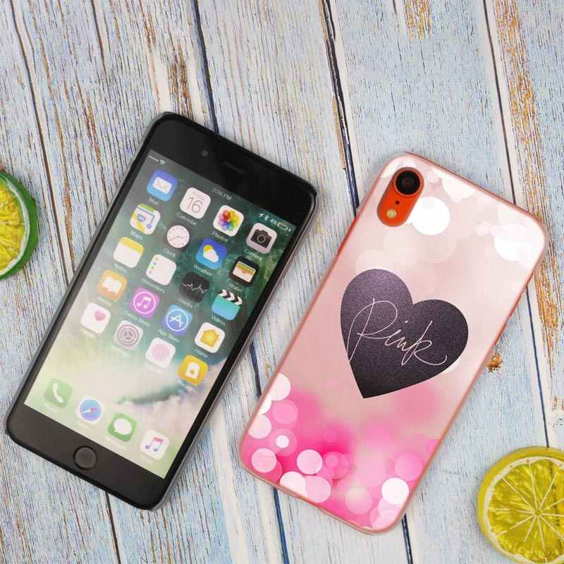 f0504ff2473a0 Pink victoria secret Hot Fashion Transparent Hard Phone Cover Case for  iPhone X XS Max XR 8 7 6 6s Plus 5 SE 5S 4 4S