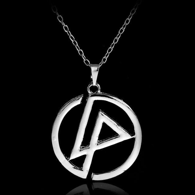 Linkin Park Rap Rock Band Group Classic Logo Symbol Round Silver