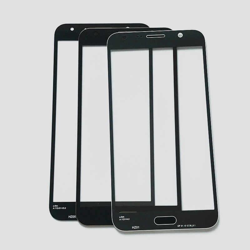 2 قطع/لمس الشاشة شاشة lcd جبهة الزجاج الخارجي غطاء العدسة لسامسونج غالاكسي 2015 J700 j7