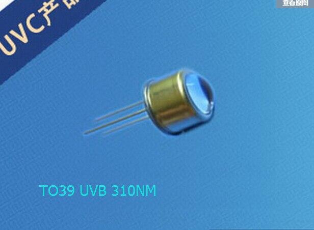 DHL UPS FEDEX Free Packaging Housing TO39 310NM UVB LED Diode 5.3-5.9v 20ma 0.2-0.5mw аксессуары для телефонов senter st 220 dhl ups fedex ems st220