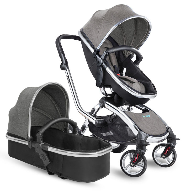 360 Degree Swivel Seat Baby Stroller 2 In 1 European High Landscape Car Newborn Carriage Large Wheels Shockproof Mutiple From
