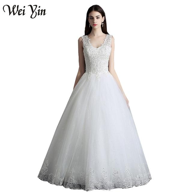 WeiYin Echte Fotos Vestidos de Novias Camo Hochzeitskleid ...
