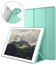 for iPad 2 3 4 Ultra Slim Lightweight Smart Case Trifold Stand with Flexible Soft TPU Back Cover for iPad2 IPAD3 IPAD4 tablet