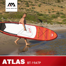 AQUA MARINA tabla de Surf ATLAS, tabla inflable de Surf, 366x84x15cm