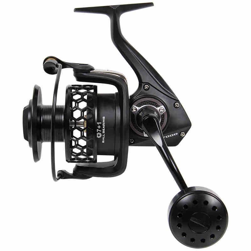 Trulinoya 7000 size max drag 20kg top quality full metal for Fishing reel sizes