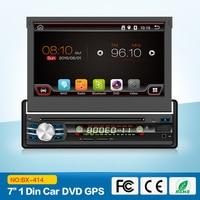 7 дюймов 1 Дин dvd-плеер Android 6.0 моторизованный Съемная 1080 P видео HD Сенсорный экран Automotivo автомобиля стерео
