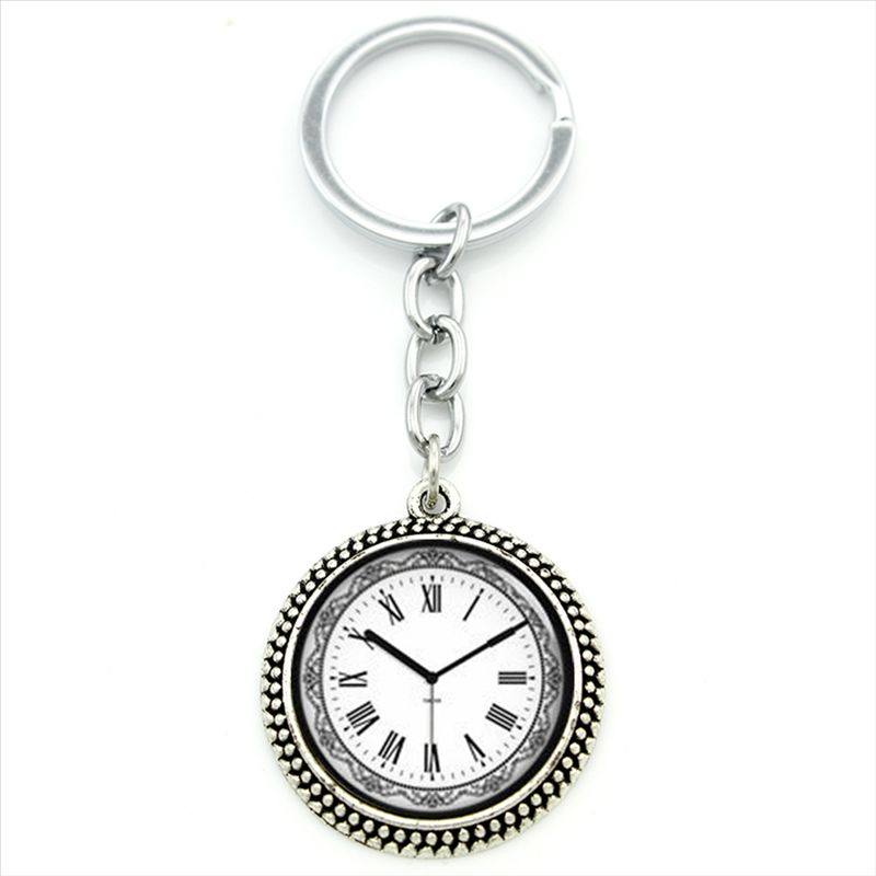 Tafree Fashion Women Men Jewelry Key Chain Ring Chocolate Molecule