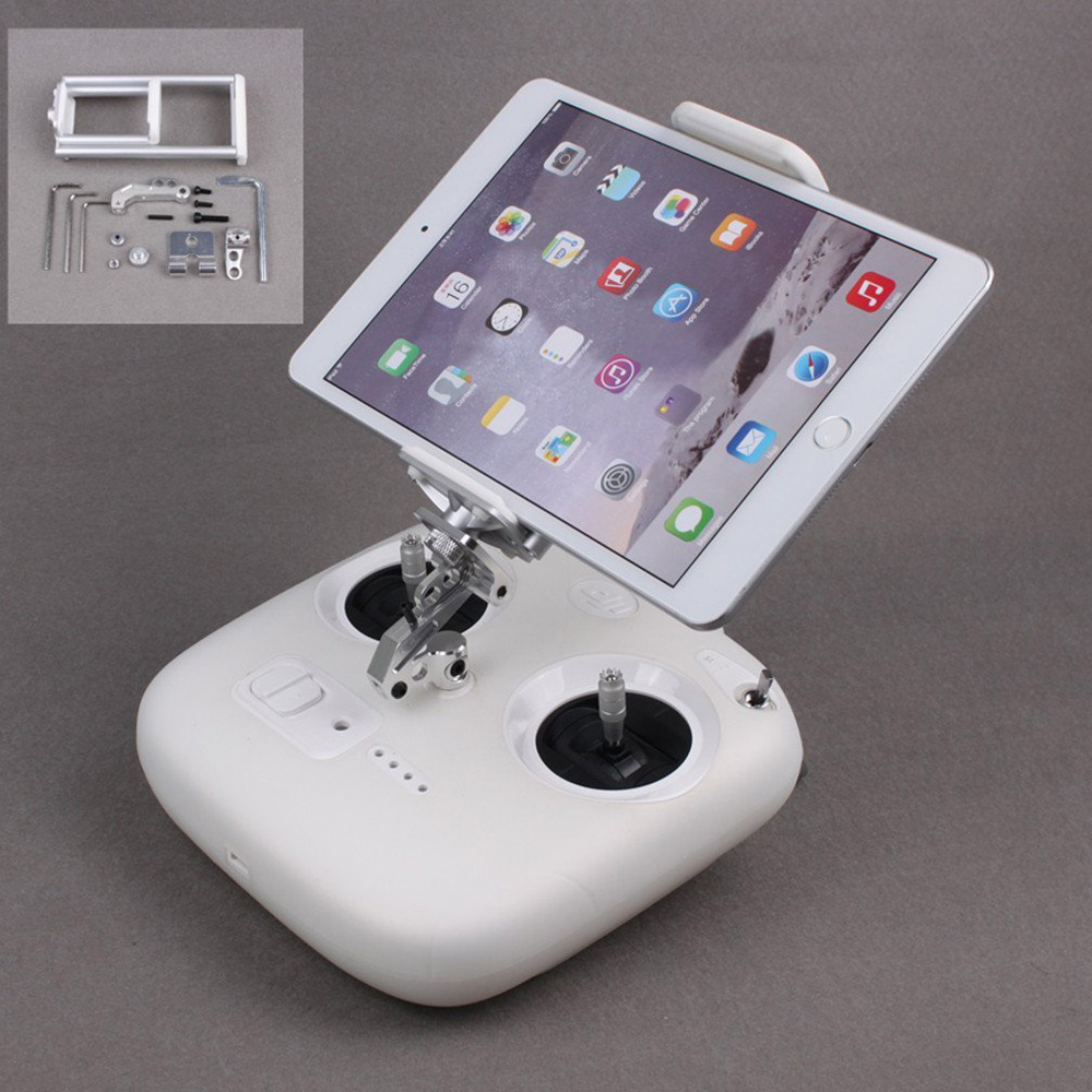 DJI Phantom 3 Standard Remote Controller Stretchable Extended Clamp Phone Tablet Holder Bracket