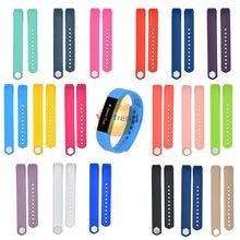 Silicone macio substituição pulseira de relógio para fitbit alta esporte pulseira pulseira acessórios alça de relógio ajustável para alta