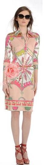 2017 real jurken vestido serie print turn down kraag shirt stijl elastische gebreide een stuk dress mooie super fancy-in Jurken van Dames Kleding op  Groep 1