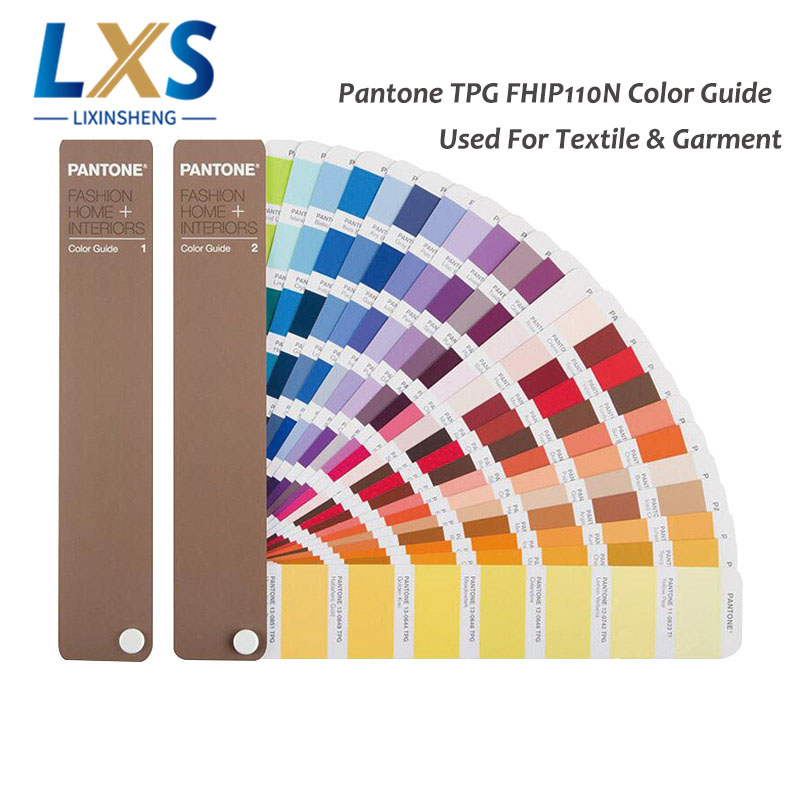 2 books set USA PANTONE TPX TPG FHIP110N 2310 Kinds of Color Guide For Fashion Interiors