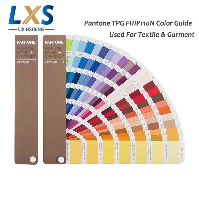 2 libros/set EE. UU. PANTONE TPX símbolo/TPG FHIP110N 2310 tipos de guía de Color de moda para viajes a nueva york   circuitos viajes por Nueva York   ofertas nueva textiles y Prendas de Vestir