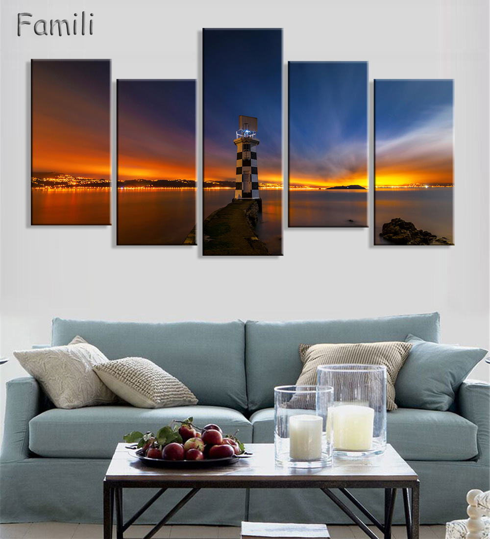 Wall Pictures Mountain Landscape Painting Art New Zealand