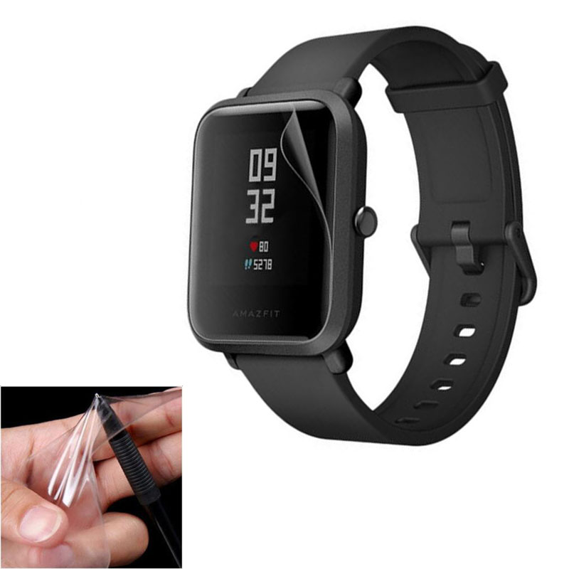 2pcs Soft TPU HD Clear Protective Film Guard For Xiaomi Huami Amazfit Bip BIT PACE Lite SmartWatch Full Screen Protector Cover