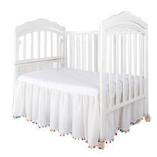 Baby Bed Cover Crib Ruffle Skirt Cotton Suitable For All Season