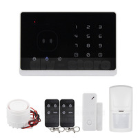 DIYSECUR Quality GSM RFID Alarm System with Touch Screen and SMS APP control Best Smart Home Alarm System