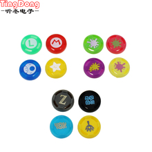 four pcs Nintend Swap Professional Controller Silicone Analog Thumb Stick Grips for Nintend Swap PRO/PS4/PS3/XBOX ONE Controller