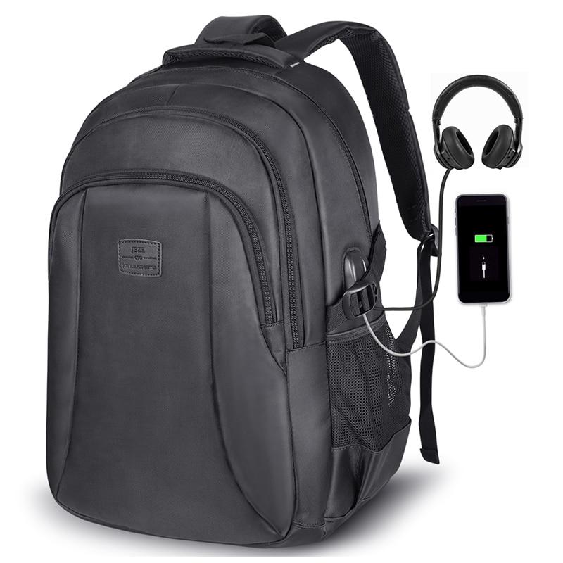 Hommes et femmes sac à dos USB charge Sports de plein air escalade sac pour 15.6 pouces sacoche pour ordinateur portable grande capacité école sacs à dos