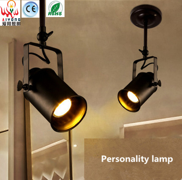 Us 520 Przewodnik Led Sklep Odzieżowy Utwór Oświetlenie Lampy Sufitowe ścienne Z Retro Prawo Dyrektor Utwór Reflektory świateł Pręt W Przewodnik