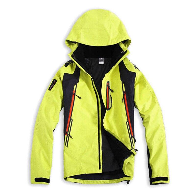 Dropshipping Winter Hiking Softshell Jackets Men Outdoor Fishing Clothes Camping Skiing RainWindbreaker Waterproof Jacket