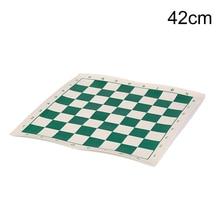 1 шт. из искусственной кожи материал Шахматы Детские развивающие игры 42 см x 42