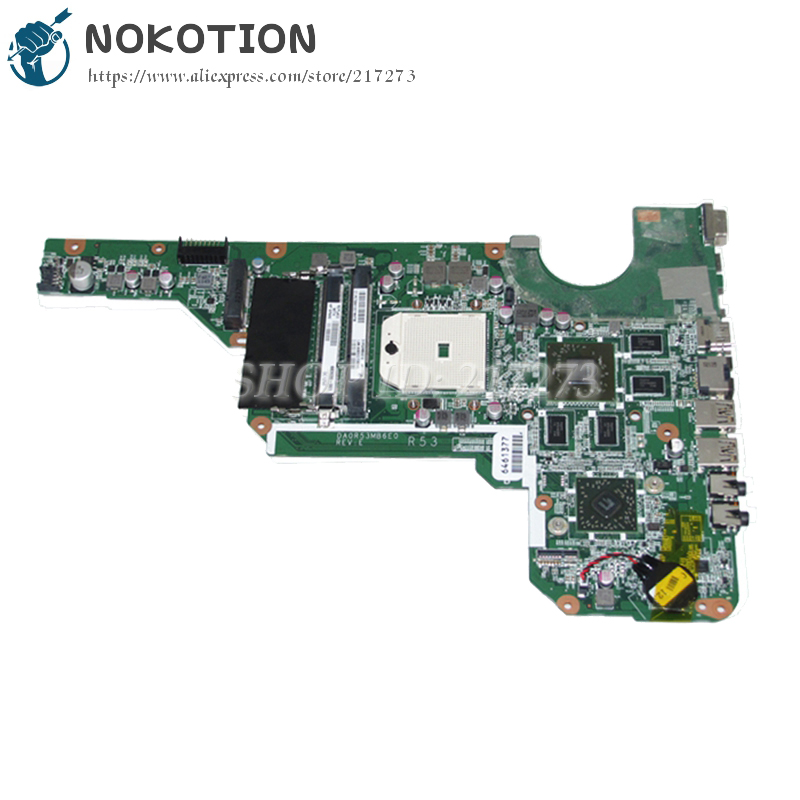 NOKOTION 683030-001 683030-501 DA0R53MB6E1 PC Main Board For HP Pavilion G6 G6-2000 G4 G4-2000 G7-2000 Laptop Motherboard nokotion 683029 501 683029 001 main board for hp pavilion g7 2000 laptop motherboard ddr3 da0r53mb6e0