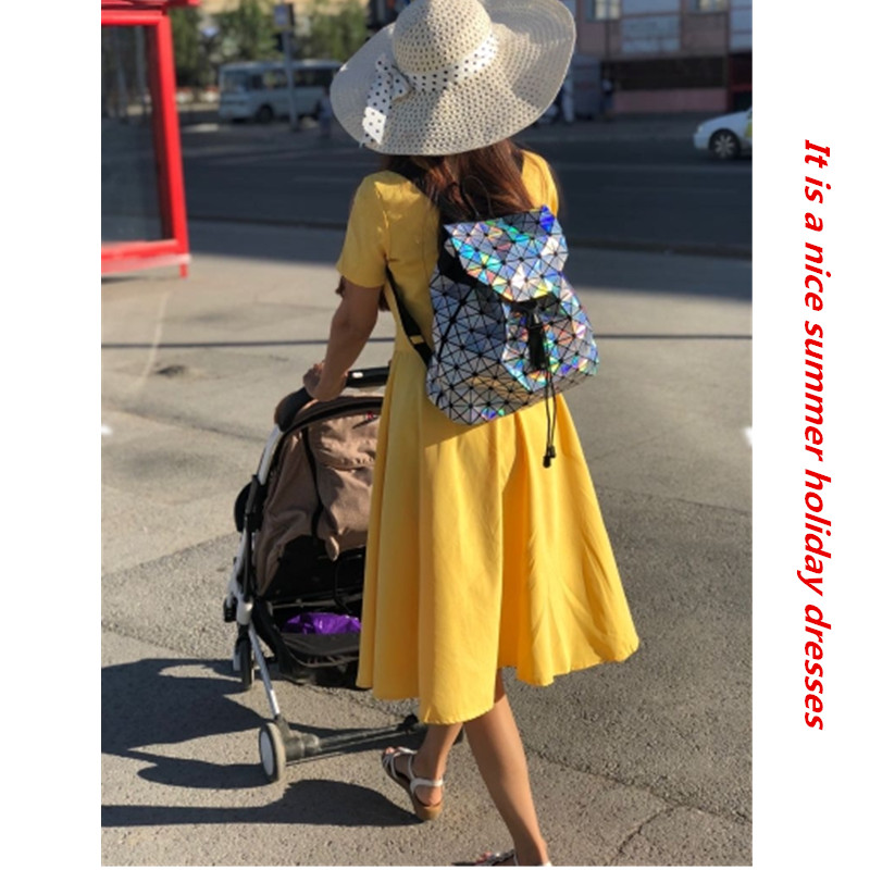 15aeb29ba4330 Helisopus Women Long Belted Shirt Dress yellow red Color Side Slit Dress  Summer Beach Long Dresses for Holidays Women Clothings-in Dresses from  Women's ...