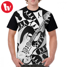 George Harrison T Shirt While My Guitar Gently Weeps T-Shirt Men Graphic Graphic Tee Shirt 100 Polyester Summer Tshirt