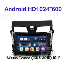 Android 6.0 Car DVD GPS Multimedia player For Nissan TEANA Altima 2013 2014 2015 Radio Built-in WiFi Support DVR  TPMS