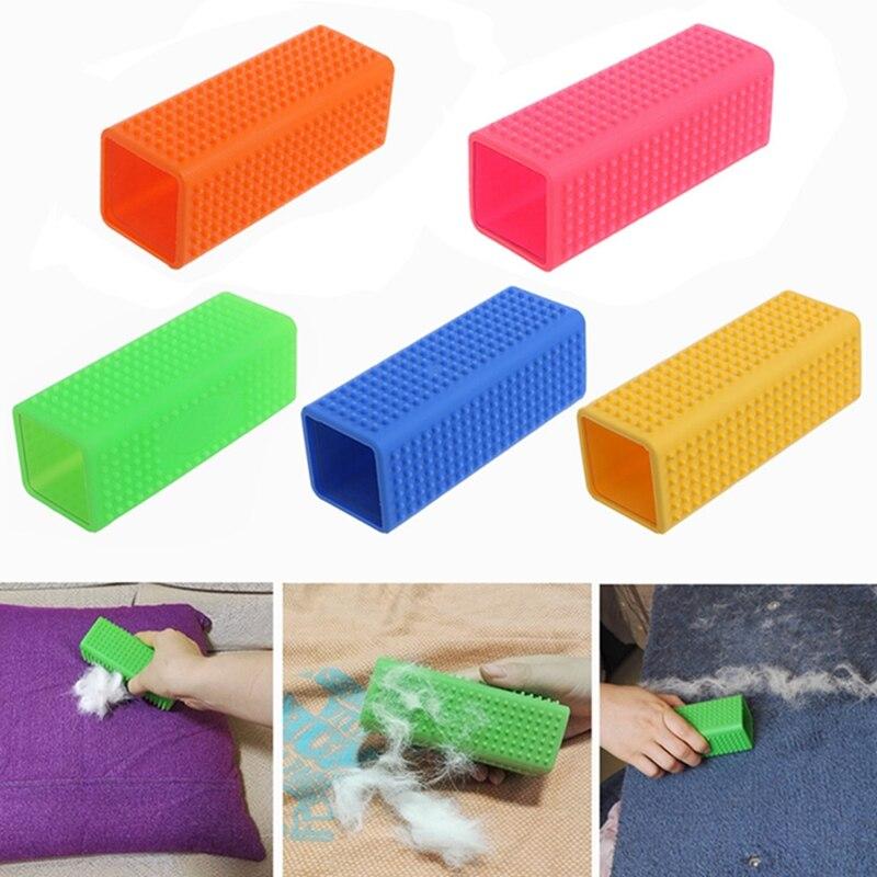 font b Pet b font Dog Puppy Cat Bath Brush Comb Depilation Silicone Massage Grooming