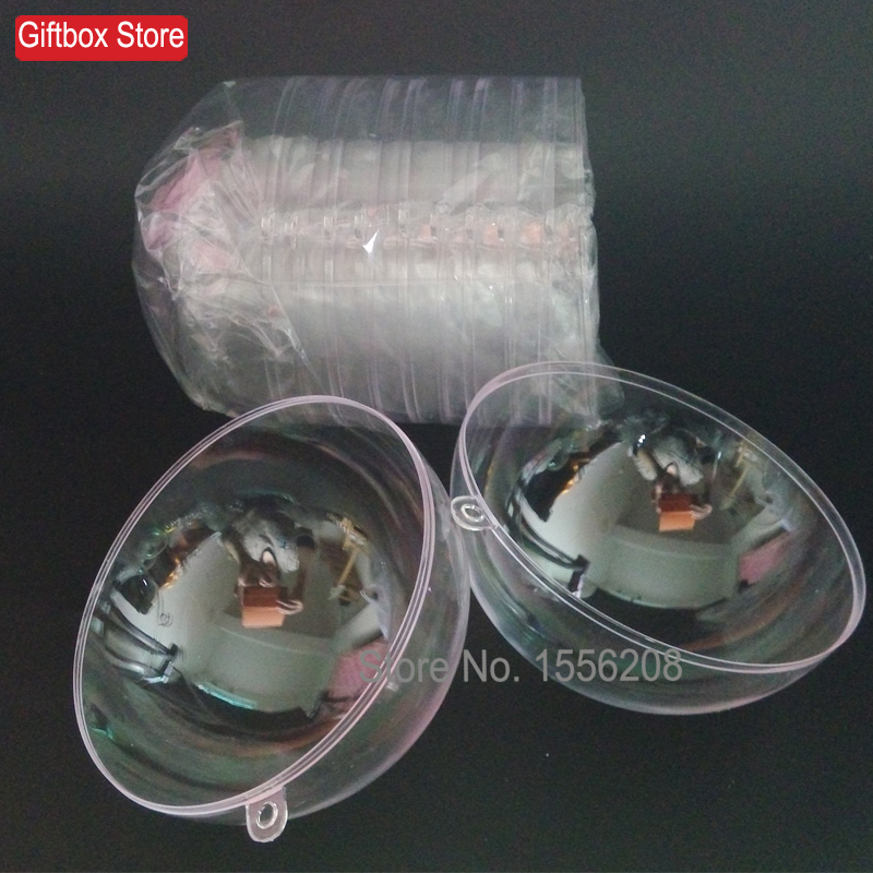 Wedding favors ornaments promotion shop for promotional for Clear plastic balls for crafts