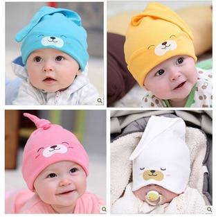 d918898882efe Envío gratis! cap neumáticos bebé recién nacido bolsillo gorra de dormir  sombrero gorra de tela