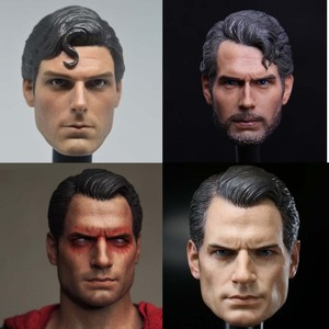 Image 1 - Mnotht Toy 1/6 Scale DC Superman Clark Kent Head Sculpt For Hot Toys Body action figure toys collections
