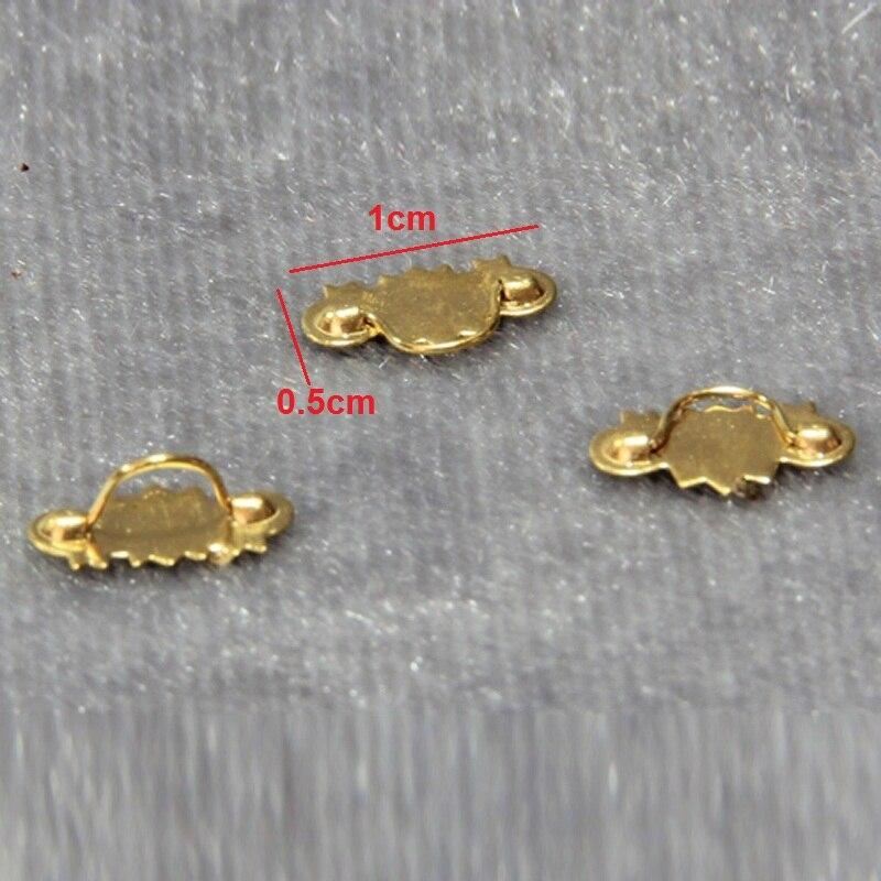 Maison de poupées argentier Porte D Poignées Tiroir Tire miniature échelle 1:12