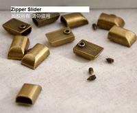 200pcs 3#5# Vintage Metal Zipper Sliders Repair Zipper Stopper For Open End DIY Sewing Accessories Garment Tailor Tools AU188