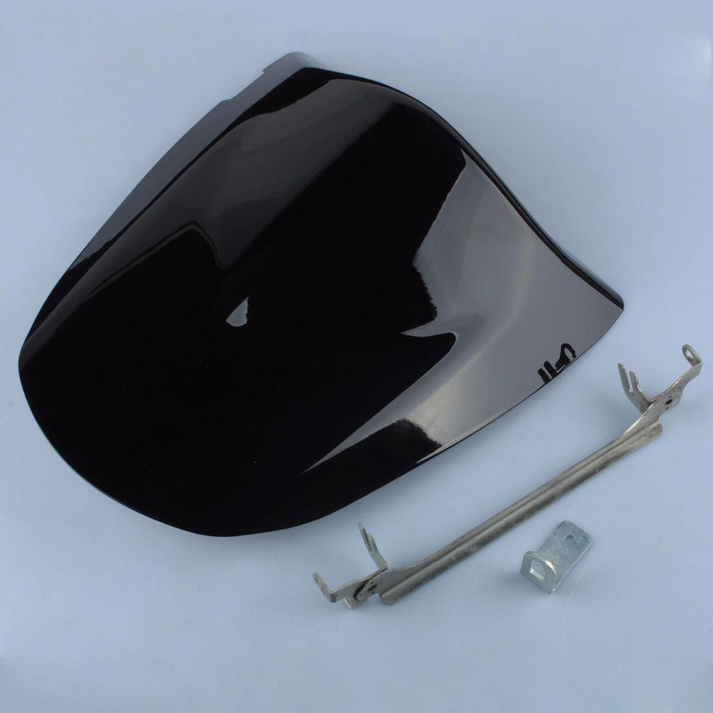 Black ABS Plastic Motorcycle Rear Seat Cover For Kawasaki ZX6R ZX 6R 2003-2004 Z750 Z1000 2003-2006 2004 2005 Fairing Cowl