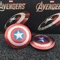 Cargador de viaje Vengadores Capitán América Shield USB Cargador de Banco de la Energía 6800 mAh para todo el teléfono móvil con El Paquete de Batería Externa