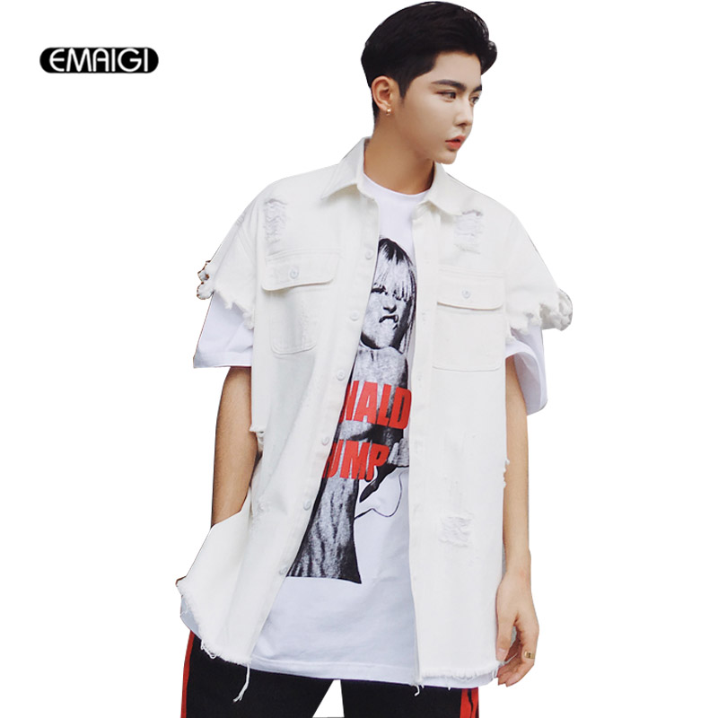 Compare Prices on Mens White Denim Shirts- Online Shopping/Buy Low ...