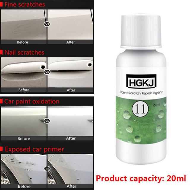 1PCS NEW 20ml Car Waxing Polish Paint Scratch Repair Agent Polishing Wax Paint Scratch Repair Remover Paint Care Car Accessories