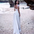 Vestido Barato 2016 Sexy Backless Beach Hippie Wedding Dresses Vintage Casamento