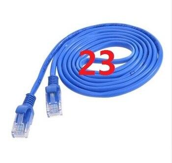 23 # laoke 2018 кабель высокого Скорость 1000 м RJ45 CAT6 сети Ethernet плоский кабель LAN UTP Патч-маршрутизатор Кабели
