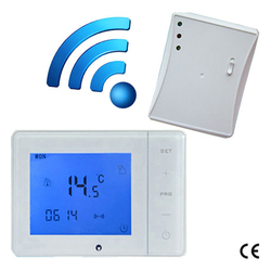 470MHZ 433MHZ programble Wireless gas boiler thermostat with underfloor heating