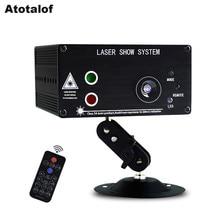 Atotalof LED RGB Stage Light 48 Patroon Afstandsbediening/Sound DJ Disco Licht voor KTV Home Party Kerst Laser projector licht