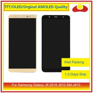 """ORIGINAL 6.0"""" For Samsung Galaxy J8 2018 J810 SM-J810 LCD Display With Touch Screen Digitizer Panel Pantalla Complete"""
