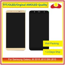 "ORIGINELE 6.0 ""Voor Samsung Galaxy J8 2018 J810 SM J810 Lcd scherm Met Touch Screen Digitizer Panel Pantalla Compleet"