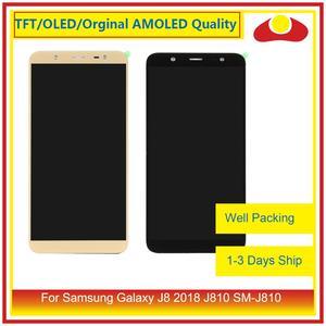 "Image 1 - ORIJINAL 6.0 ""Samsung Galaxy J8 2018 J810 SM J810 lcd ekran Ile dokunmatik ekran digitizer Paneli Pantalla Komple"