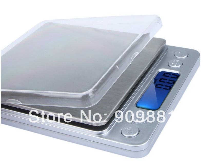 3000 g 0,1 g skaitmeninės kišeninės svarstyklės 3 kg 0,1 - Matavimo prietaisai - Nuotrauka 4